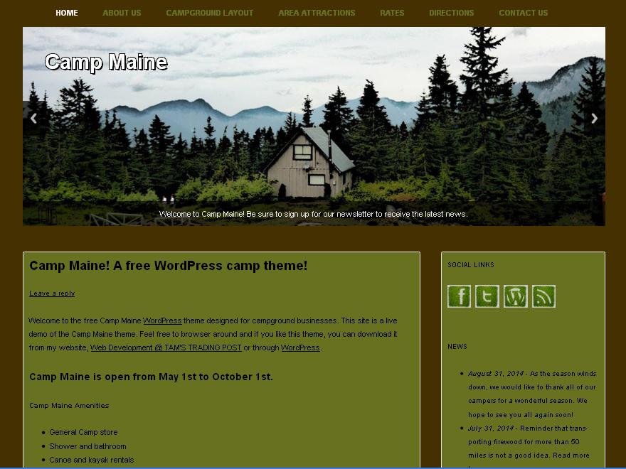 Camp Maine screenshot